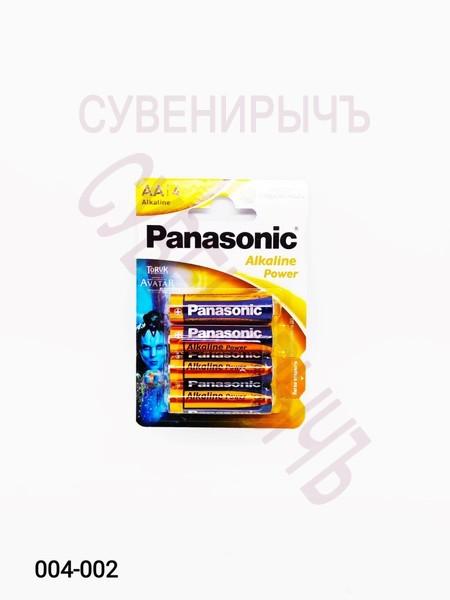 Бат LR-06 Panasonic 4 card