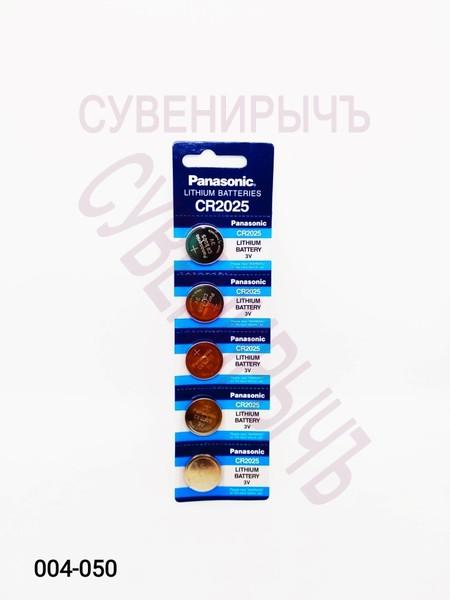 Бат CR-2025 Panasonic 5 card