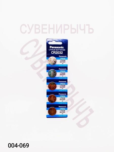 Бат CR-2032 Panasonic 5 card