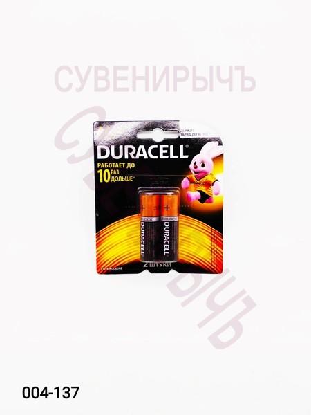 Бат LR-06 DURACELL 2 card