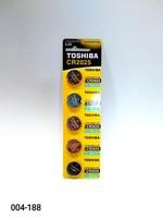 Бат CR-2025 Toshiba 5 card