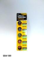 Бат CR-2032 Toshiba 5 card