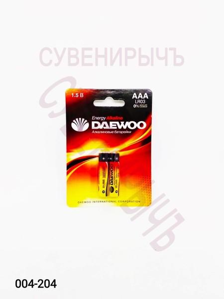 Бат LR-03 DAEWOO 2 card
