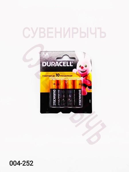 Бат LR-06 DURACELL 4 card