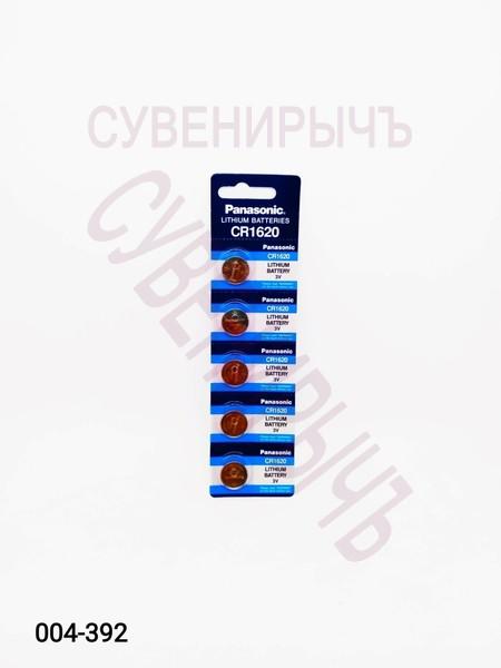 Бат CR-1620 Panasonic 5 card