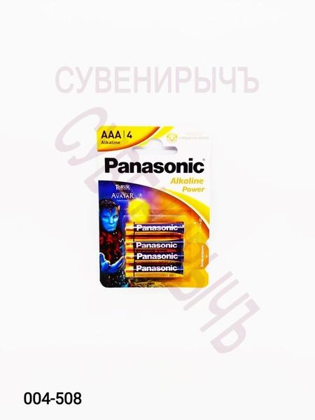 Бат LR-03 Panasonic Alckaline 4 card