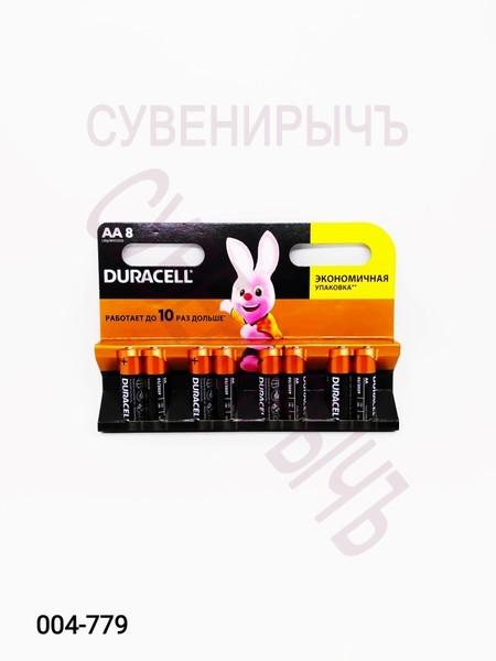 Бат LR-06 DURACELL 8 card