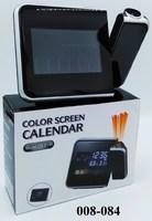Часы электр Будильник проэктор USB Сеть DS-8190