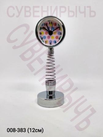Часы на пружине Круг метал A20181