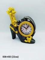 Часы Туфелька будильник 71-873