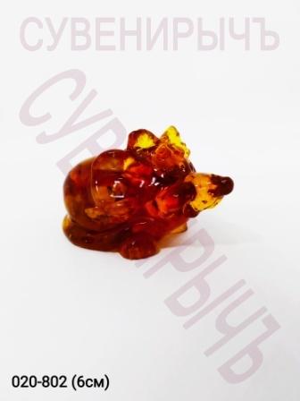 Мышка с бантиком Янтарь