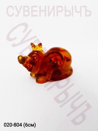 Мышка с короной Янтарь