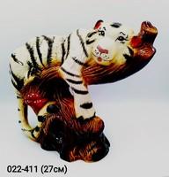 Копилка Тигр на ветке 27 см Символ 2022 года