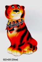 Копилка Тигр в шарфе Симпатичный 20 см Символ 2022 года