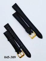 Ремешок д час кожа 14мм черн Nagata