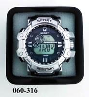 Часы электр Спорт пласт кор20 ASD618 624 625