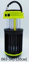 Фонарь акк Лампа солн бат 3реж насеком YD-1425