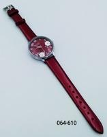 Часы Viamax жен рем риски цветочн.гирлянда