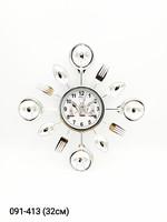 Часы настенные Космос Сер Зол Черн 7802