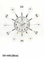 Часы настенные Космос сер зол 7805
