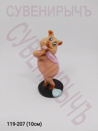 Свинка в душе pig2-4 71043