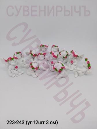 Ангел Сидит розы цв мини уп12 Ge5-3