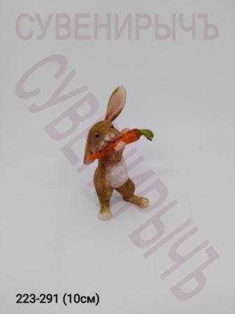 Заяц с морковкой 12138A