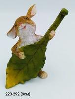 Заяц с листиком 12156A