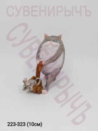 Кот с мышкой 9267