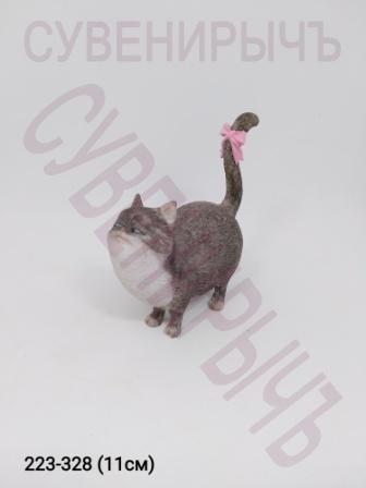 Кот с бантиком 12932E