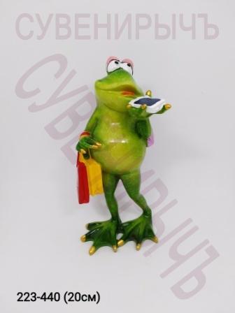 Лягушка Арт Шопинг 69065