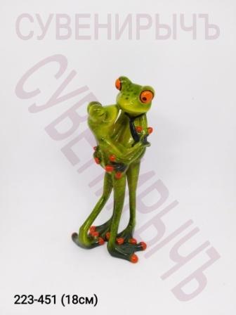 Лягушка Арт Нежные обьятия 6029-2
