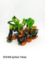 Лягушка Байкер уп2 ЛЯГ06