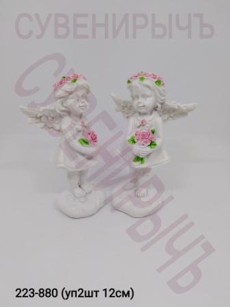 Ангел с цветами большой уп2 Ge5-27