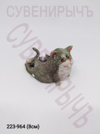 Кот на пузе ED11144H