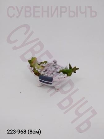 Лягушка в ванной EV13342B