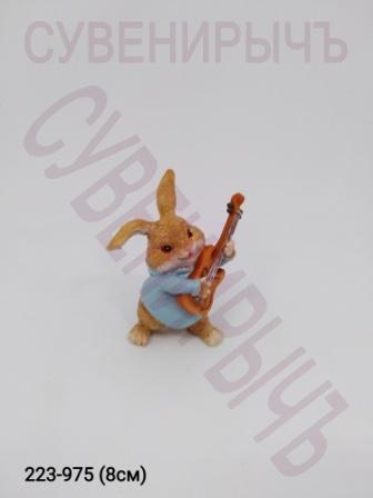 Заяц с гитарой EV14422A