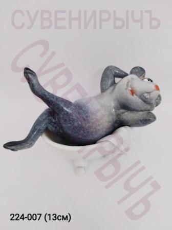 Мышка в ванной 71077