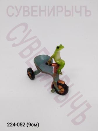 Лягушка на велосипеде 14902
