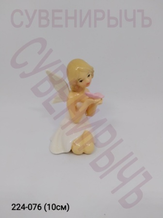 Ангел с бабочкой фарфор Ge2-14