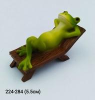 Лягушка на шезлонге 15377