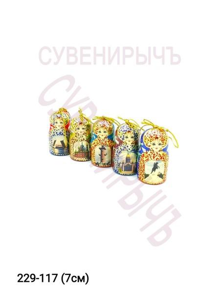 Набор матрешек СПб 5шт набор