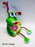 Копилка Лягушка Тону в Любви