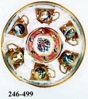 Набор кофейный Императоры России красн 36-1044