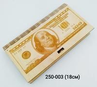 Купюрница 100долл гарвировка 2919