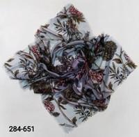 Платок Цветы хлопок S9734