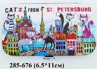 Маникюрный набор СПб Коты на крыше 37-1205
