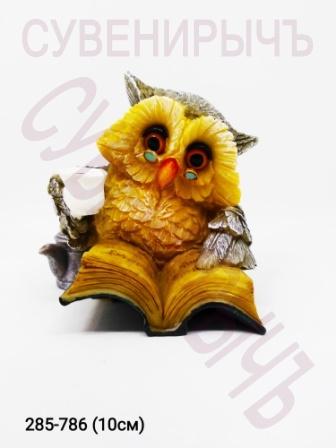 Сова Любитель чтения и чая OL9528
