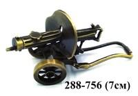 Фигурка Пулемет Максим 4см бронз 006-010-165BR