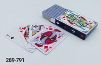 Карты игральные 54л Пласт покрыт 8068 9899